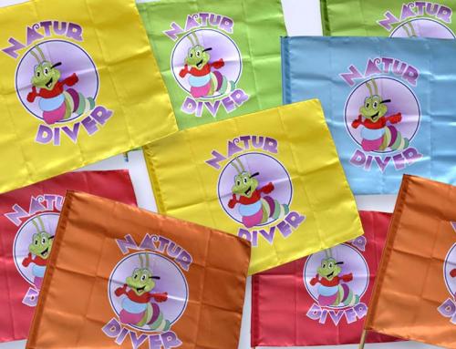 Impresión de banderas por sublimación