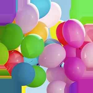 Globos personalizados de todos los colores. Infladores, varillas y todo tipo de accesorios en nuestros catalogos online
