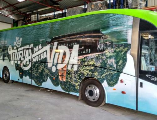 Rotulación autobús