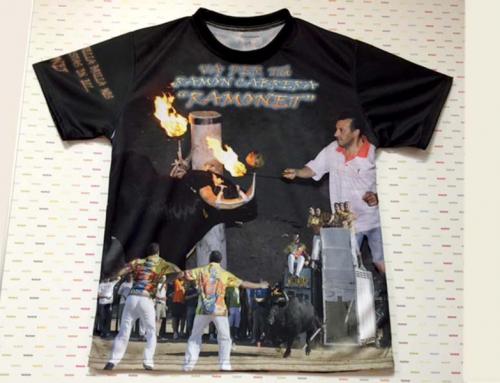 Camisetas impresas por sublimación