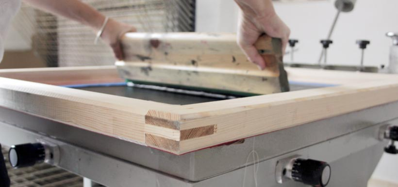 Fabricaccion de marcis y pantallas de serigrafía con tensado profesional